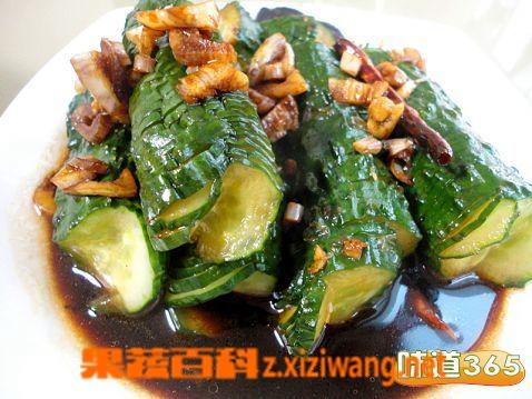果蔬百科腌黄瓜的做法大全